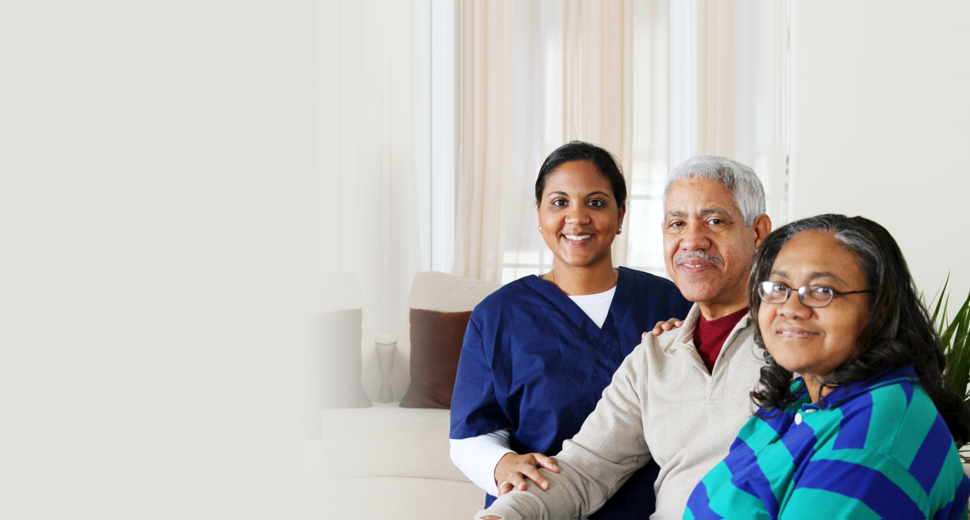 Home Health Care. Retired, couple.